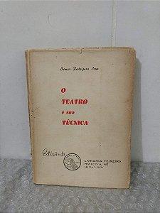O teatro e sua Técnica - Osmar Rodrigues Cruz