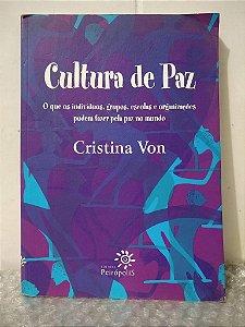 Cultura de Paz - Cristina Von