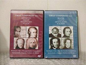 Great Composers Edição de Colecionador - volumes 1 e 2