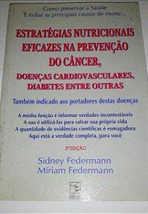 Estratégias nutricionais eficazes na prevenção do câncer - Sidney Federmann