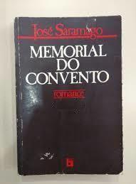 Memorial do Convento - José Saramago (capa preta pu capa clara)