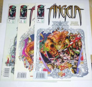 Ângela - Mini-série completa 3 vols - Spawn Image