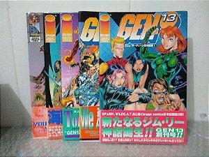 Coleção Gen 13 C/ 5 HQ's em Japonês