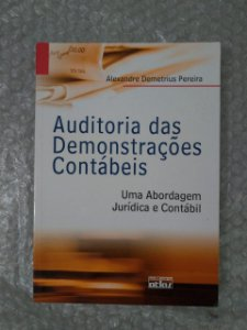 Auditoria das Demonstrações Contábeis - Alexandre Demetrius Pereira