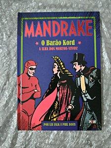 Mandrake O Barão Kord - Lee Falk E Phil Davis - A ilha dos mortos vivos