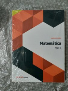 Matemática vol. 2 + Caderno de Exercícios - Currículo Comum