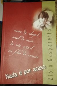Nada é por acaso - Zibia Gasparetto - Romance Espírita (marcas)
