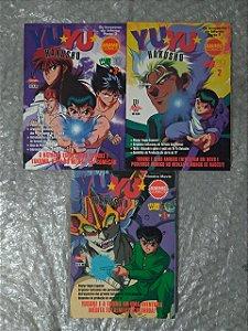 Coleção Yuyu Hakusho - Volumes 1, 2 e 3