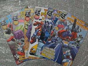 Coleção Transfomers - C/6 volumes