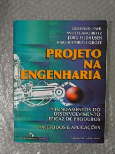 Projeto na Engenharia - Gerhard Pahl, Wolfgang Beitz, Entre Outros