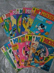 Coleção Mickey Revista Mensa de Walt Disney - C/14 volumes
