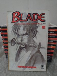 Coleção Blade A Lâmina do Imortal - Hiroaki Samura C/19 volumes