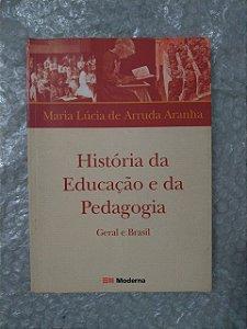 História da Educação e da Pedagogia - Maria Lúcia de Arruda Aranha (marcas)