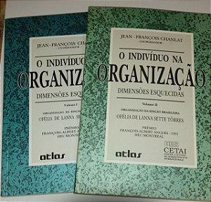 O indivíduo na organização - 2 volumes - Jean François Chanlat