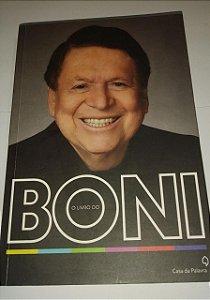 O livro do Boni - Casa da palavra - Biografia (marcas de uso)