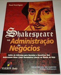 Shakespeare na administração de negócios - Paul Corrigan