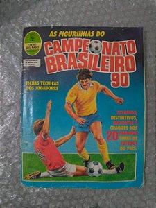 Álbum de Figurinhas  - Campeonato Brasileiro 90 - 72%Completo