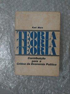 Contribuição Para a Crítica da Economia Política - Karl Max
