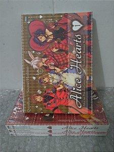 Coleção Alice Hearts - QuinRose C/4 volumes