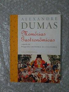 Memórias Gastronômicas - Alexandre Dumas (marcas de umidade)