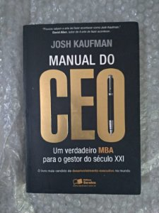 Manual do Ceo - Josh Kaufman