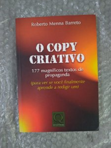 O Copy Criativo - Roberto Menna Barreto
