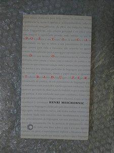 Poética do Traduzir - Henri Meschonnic