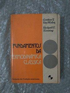 Fundamentos da termodinâmica Clássica - Gordon J. Van Wylen e Richard E. Sonntag