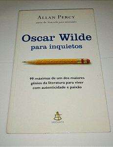 Oscar Wilde para inquietos - Allan Percy (marcas de uso)
