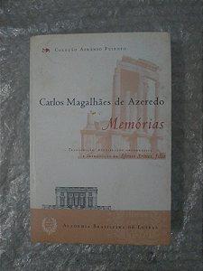 Memórias - Carlos Magalhães de Azevedo