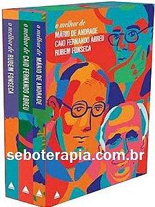 O melhor de Mário de Andrade - Caio Fernando Abreu - Rubem Fonseca (lacrado)