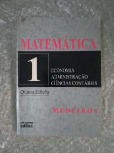 Matemática 1 - Sebastião Medeiros da Silva