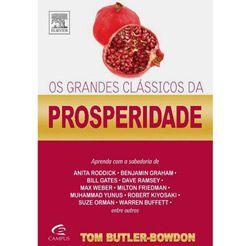 Os grandes clássicos da prosperidade - Tom Butler Bowdon