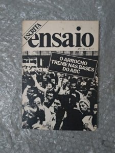 Escrita / Ensaio 7 - O Arrocho Treme nas bases do Abc