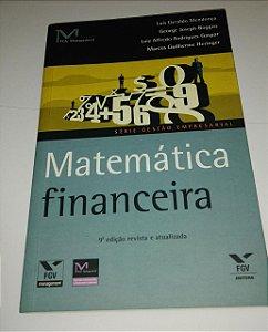 Matemática financeira - FGV - Luis Geraldo Mendonça