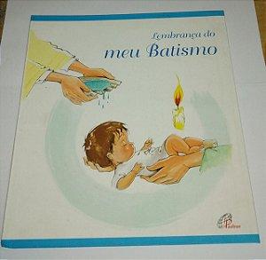 Lembrança do meu batismo - Paulinas