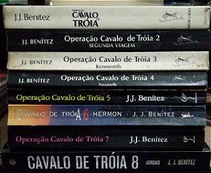 Coleção Operação Cavalo de Tróia 8 Volumes - 1 ao 8 - J. J. Benítez