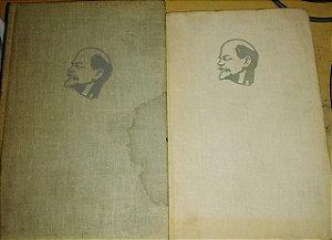 V. I. Lenin - Obras Escogidas (Em Espanhol) 2 volumes (Do total de 3) - Em Espanhol