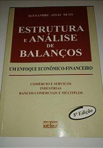 Estrutura e análise de balanços - Alexandre Assaf Neto - 8ª Edição