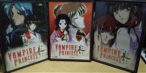 Coleção Vampire Princess 1 2 e 3 - DVD's