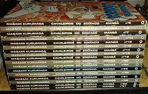 Coleção Cavaleiros do Zodíaco - 2 edição Brasileira - 17 volumes