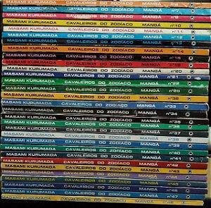 Coleção Cavaleiros do Zodíaco Saint Seya 1 Edição Brasileira - 31 volumes