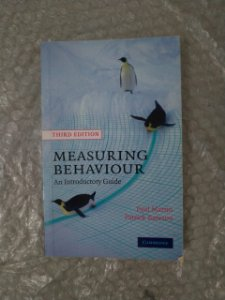 Measuring Behaviour - Paul Martin e Patrick Bateson