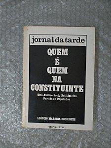 Jornal da Tarde: Quem é Quem na Constituinte - Leôncio Martins Rodrigues