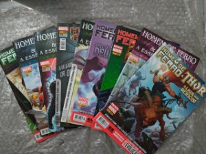 coleção Homem de Ferro e Thor - Marvel C/9 volumes