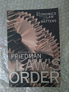 Law's Order - David D. Friedman