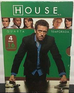 Box House DVD - 4ª temporada - 4 Discos