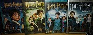 Kit DVD's Harry Potter 1 ao 4 Filmes