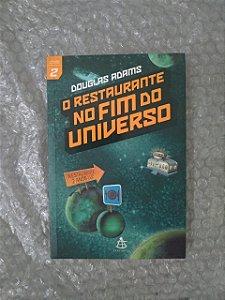 O Restaurante no Fim do Universo - Douglas Adams (marcas dorso)