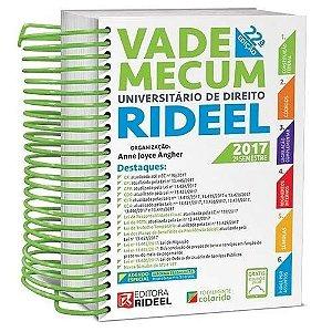 Vade Mecum Universitário de Direito Rideel 2017 2º Semestre 22 edição